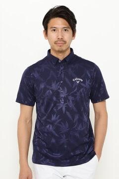 クマザサ柄BDシャツ (MENS)