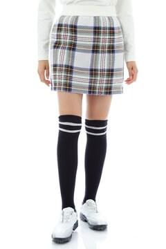 チェックジャカードニットスカート(WOMENS)