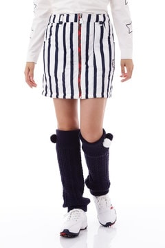 BEAR星&ストライププリント中綿スカート(WOMENS)