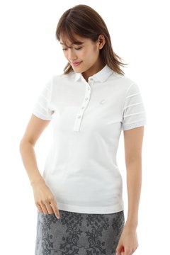 ピケストライプシャツ(WOMENS)