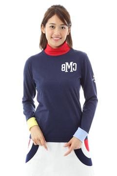 ベア天竺ハイネックシャツ(WOMENS)