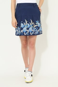 SELECT パイナップルプリントグログランスカート (WOMENS)