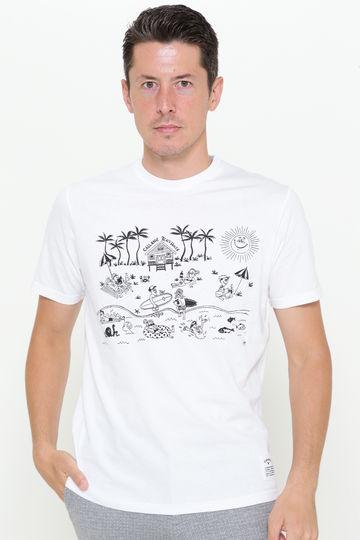 【夏季限定販売】キャロウェイ ビーチハウスプリントTシャツ(MENS)
