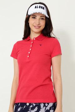 SELECT 鹿の子ポロシャツ(WOMENS)