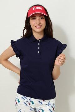 キャロウェイ 鹿の子ポロシャツ(WOMENS)