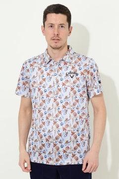 【石川プロ着用】SELECT パイナップルプリントシャツ(MENS)