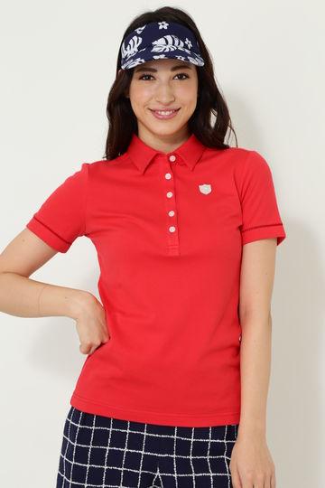 C18L1SELECT スムースポロシャツ