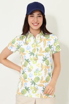 SELECT パイナップルプリントシャツ(WOMENS)
