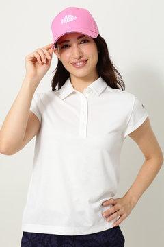 キャロウェイ ヤシ柄ジャカードシャツ(WOMENS)