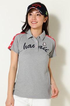 BEAR スターライン鹿の子シャツ(WOMENS)