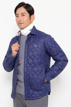 SELECT リップストップ キルティングシャツ 中綿ブルゾン(MENS)