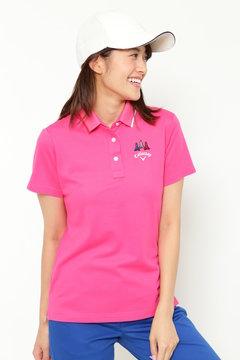 ファイン鹿の子ポロシャツ(WOMENS)