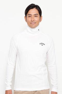 【石川プロ着用】SELECT スムース起毛 ハイネックシャツ (MENS)