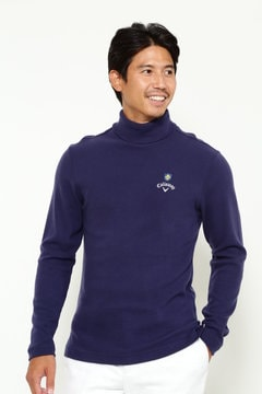 キャロウェイ 起毛 タートルネックシャツ (MENS)