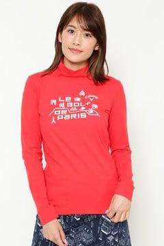 ピーチ起毛ハイネックシャツ(WOMENS)