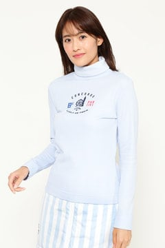 キャロウェイ 裏起毛スムース タートルネックシャツ (WOMENS)