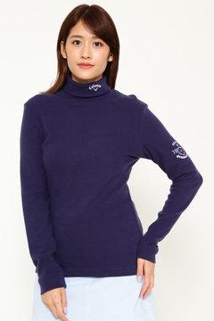 キャロウェイ 起毛タートルネックシャツ (WOMEN)