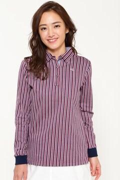 SELECT ストライプカラーシャツ(WOMENS)