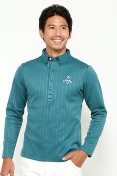 キャロウェイ ボタンダウン ワイドカラーシャツ (MENS)