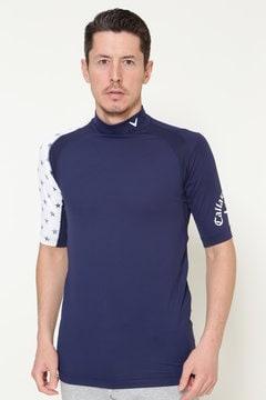 ハイネック5分丈 Tシャツ(MENS)