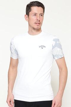 ストレッチ天竺クルーネックTシャツ (MENS)
