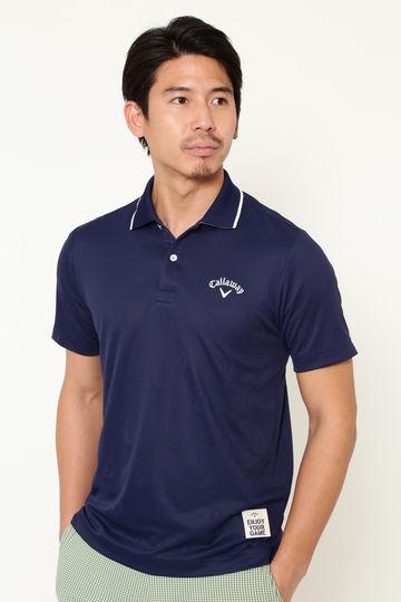 【石川プロ着用】ヨット柄 ポロシャツ(MENS)