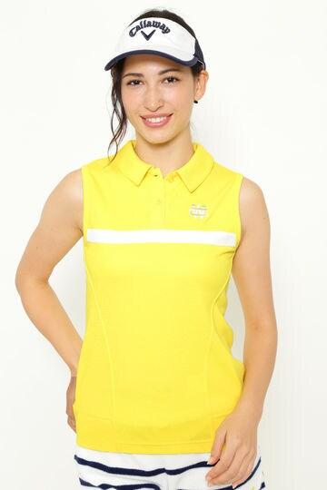 ミニワッフルノースリーブシャツ (WOMENS)