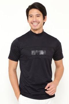 シェブロンカモフラ ジャカードハイネックシャツ (MENS)