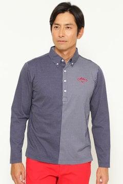 カットストライプ ボタンダウンカラーシャツ (MENS)