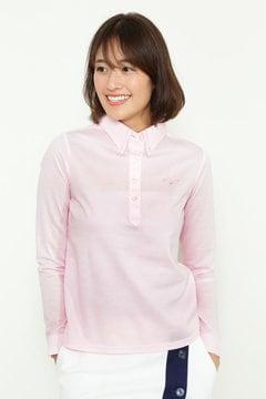 カットストライプ ボタンダウンカラーシャツ(WOMENS)