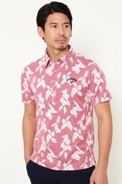 フラワーストライプ レギュラーカラーシャツ(MENS)