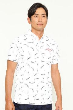 プリントボタンダウン カラーシャツ (MENS)