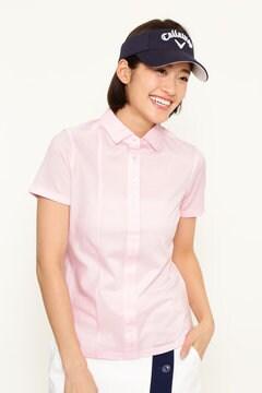 ジャガードカラーシャツ (WOMENS)