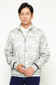 RED LABEL 迷彩プリントジップアップブルゾン (MENS)
