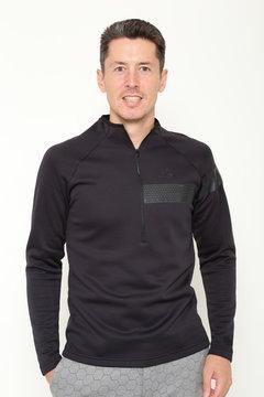 ハーフジップハイネックシャツ (MENS)