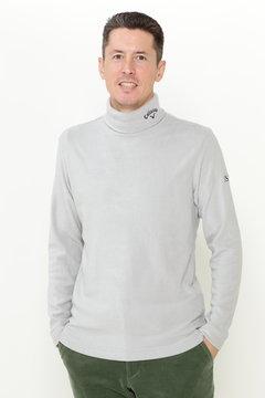 スムースハイネックシャツ (MENS)