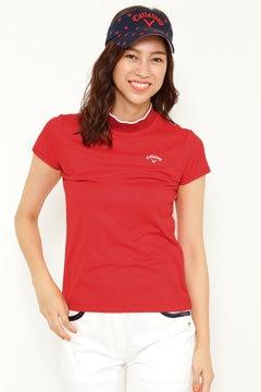 花柄ハイネックシャツ (WOMENS)