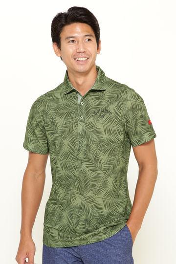 リーフプリントシャツ (MENS)