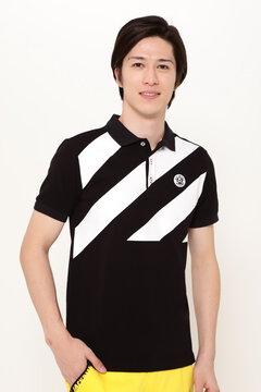 トランスドライカノコ 半袖 ポロシャツ