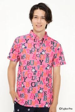 【ドラえもん】ドライマスター カノコ 半袖 ポロシャツ <千鳥総柄>