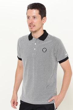 バーズアイカノコ 半袖ポロシャツ