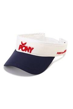 バイザー  (UNISEX)<PONY with Jack Bunny!!>