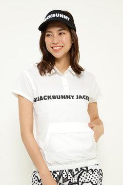 フェイクカノコ 裾ゴム 半袖 ポロシャツ
