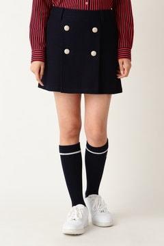 ジャガーストレッチ ミニ丈スカート