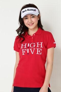 【HIGH FIVEキャンペーン対象商品】カノコ半袖ポロシャツ