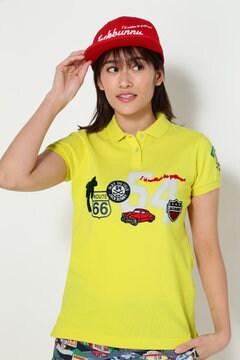 ピケワッペンカノコ 半袖ポロシャツ