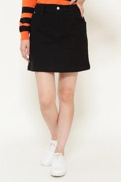 【JackBunny!!SALE品2点以上20%OFF】綿モダール ストレッチ ミニスカート