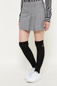 【JackBunny!!SALE品2点以上20%OFF】ハウンドトゥース ミニスカート