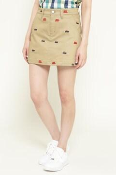 ロゴ 総柄刺繍 cool max スカート<PONY with Jack Bunny!!>