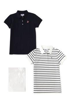 ベアカノコ 2枚セット 半袖 ポロシャツ